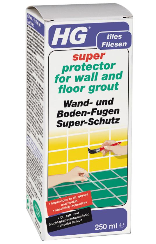 HG Wand- und Bodenfugen- Super-Schutz 250 ml Bild 1