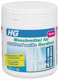 HG Waschmittel für strahlend weiße Gardinen 500g Bild 1
