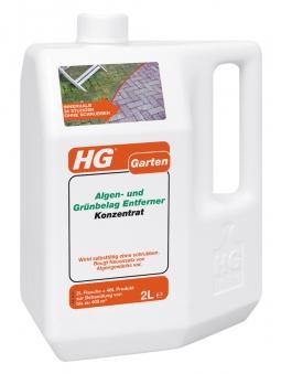 HG Algen- und Grünbelag Entferner Konzentrat 2 Liter Bild 1