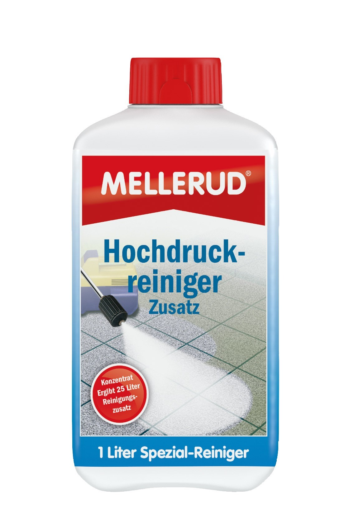MELLERUD Hochdruckreiniger Zusatz Konzentrat 1,0 Liter Bild 1
