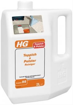 HG Teppich- & Polsterreiniger 2 Liter Bild 1