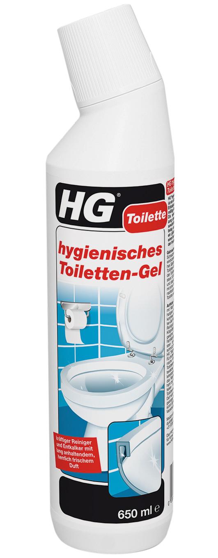 HG hygienisches Toiletten-Gel 650 ml Bild 1