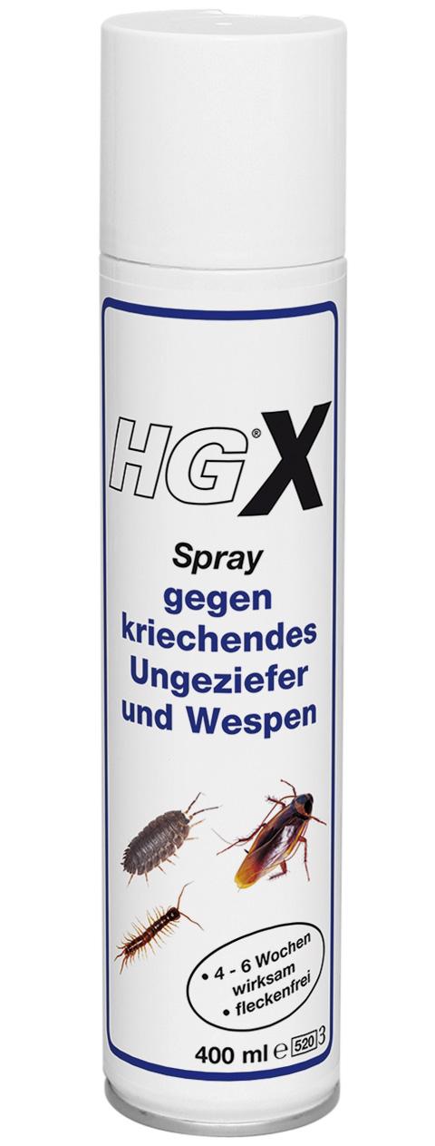 HGX Spray gegen kriechendes Ungeziefer und Wespen 400ml Bild 1