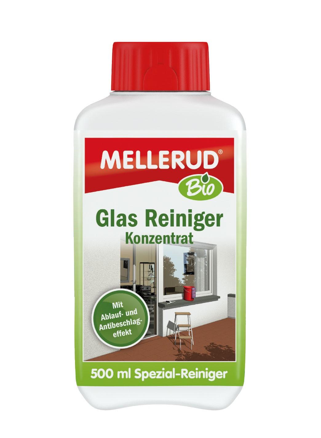MELLERUD BIO Glas Reiniger Konzentrat 0,5 Liter Bild 1
