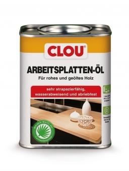 Holzöl CLOU Arbeitsplatten-Öl für rohes und geöltes Holz 750 ml Bild 1