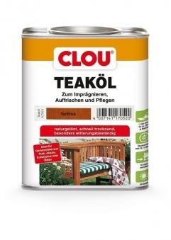 Holzöl CLOU Teaköl farblos 750 ml Bild 1