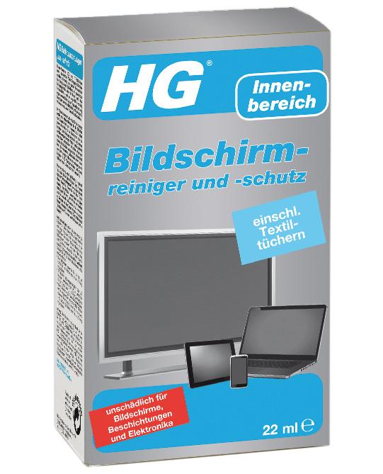 HG Sicherer Bildschirmreiniger und -schutz für Plasma LCD & TFT 22ml Bild 1
