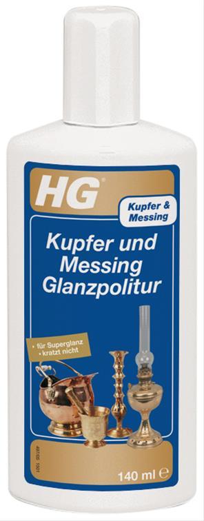 HG Kupfer und Messing Glanzpolitur 140ml Bild 1