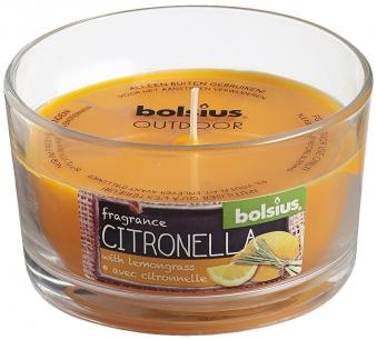 Bolsius Duftkerze / Duftglas Citronella Outdoor Zitronengras Bild 1