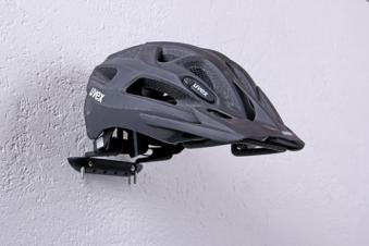 GAH Alberts Sportgerätehalter Wandhalter Kunststoff schwarz 220mm