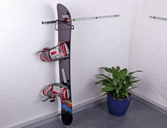 GAH Alberts Sportgerätehalter / Haken für Snowboard 30x1,6cm Bild 1