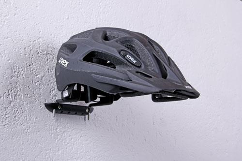 GAH Alberts Sportgerätehalter Wandhalter Kunststoff schwarz 220mm Bild 1