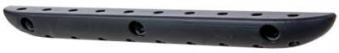 GAH Alberts Sportgerätehalter Wandhalter Kunststoff schwarz 220mm Bild 2