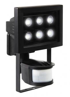 LED Baustrahler / LED Fluter mit Bewegungsmelder IP44 8,8 Watt Bild 1