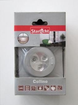 StarLicht Schrankleuchte / LED Dekoleuchte Collino 3x0,16W Licht blau Bild 1