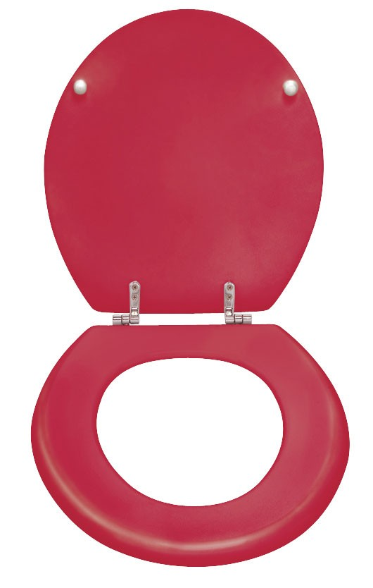 WC-Sitz Wenko Prima bordeaux MDF Bild 2