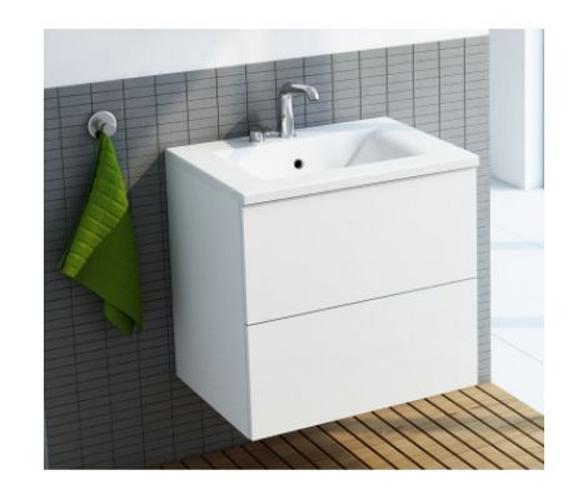 Waschbeckenunterschrank Colima mit Waschbecken 65x58,5x47,5cm Bild 1