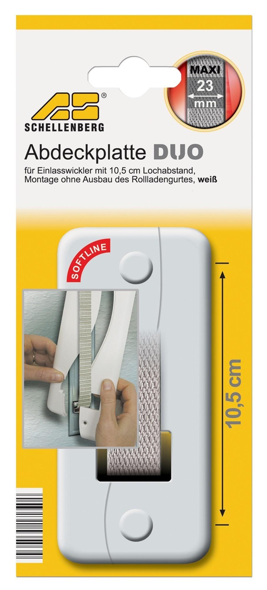 Abdeckplatte Maxi Schellenberg Lochabstand 105 mm Bild 1