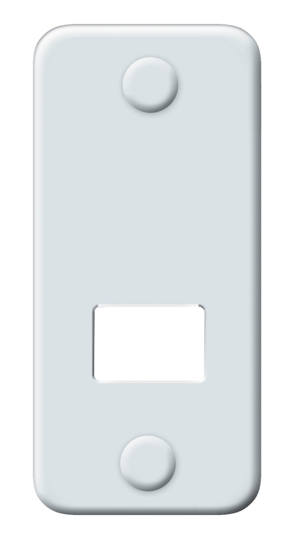 Abdeckplatte Maxi Schellenberg Lochabstand 105 mm Bild 2