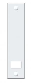 Abdeckplatte Schellenberg Maxi Lochabstand 16cm für Einlasswickler Bild 2
