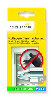 Klemmsicherung Schellenberg Rollladen für Mini und Maxi 1 Paar Bild 1