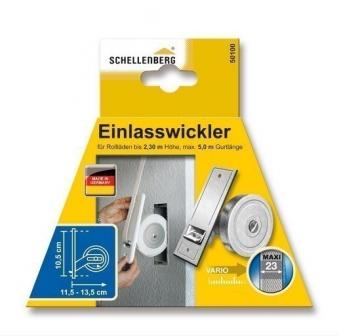 Rollladen Gurtwickler / Einlasswickler Schellenberg Maxi LA 105mm Bild 2