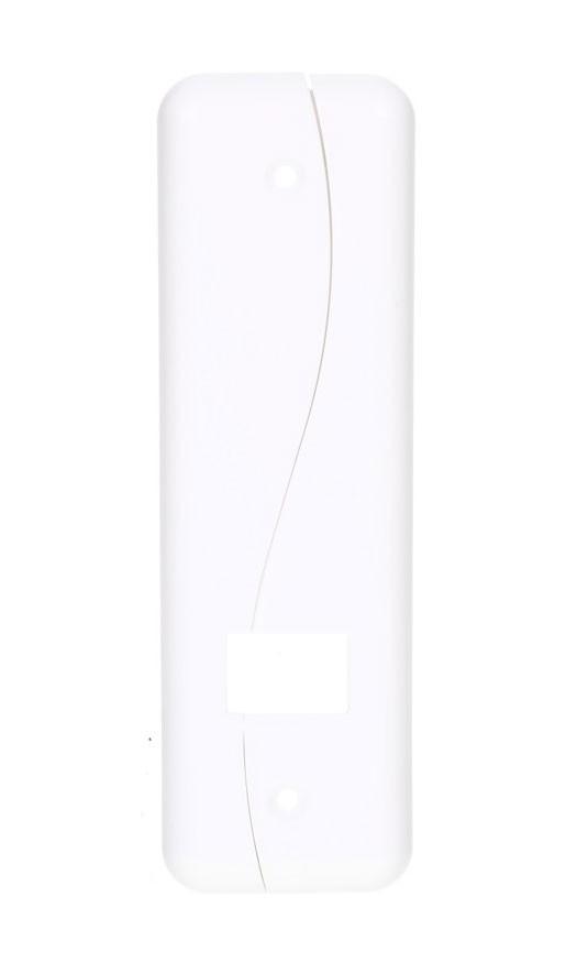 Schellenberg Abdeckplatte Soft Line DUO für Rolladengurt 16cm weiß Bild 1