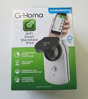 G-Homa Wi-Fi Smart Steckdose 7779 Funk-Steckdose für Außenbereich Bild 2