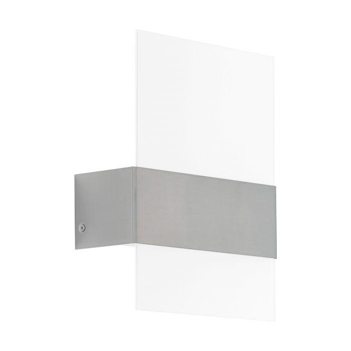 LED Außenleuchte / Wandleuchte Nadela Edelstahl / Glas Bild 1
