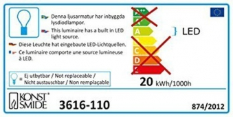 LED Lichterkette Konstsmide Microlight 300 LED außen klar/schwarz Bild 2