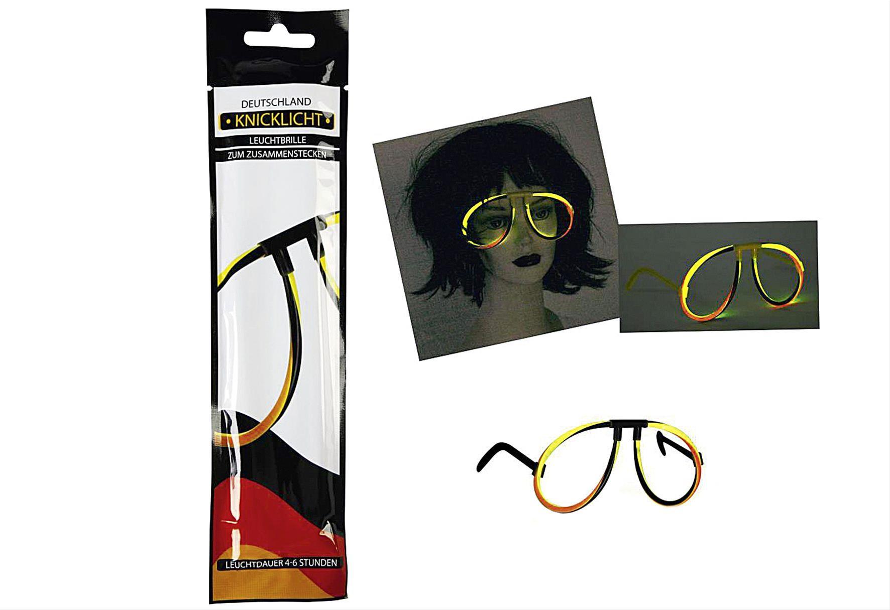 Leuchtbrille Deutschland Knicklicht Bild 1