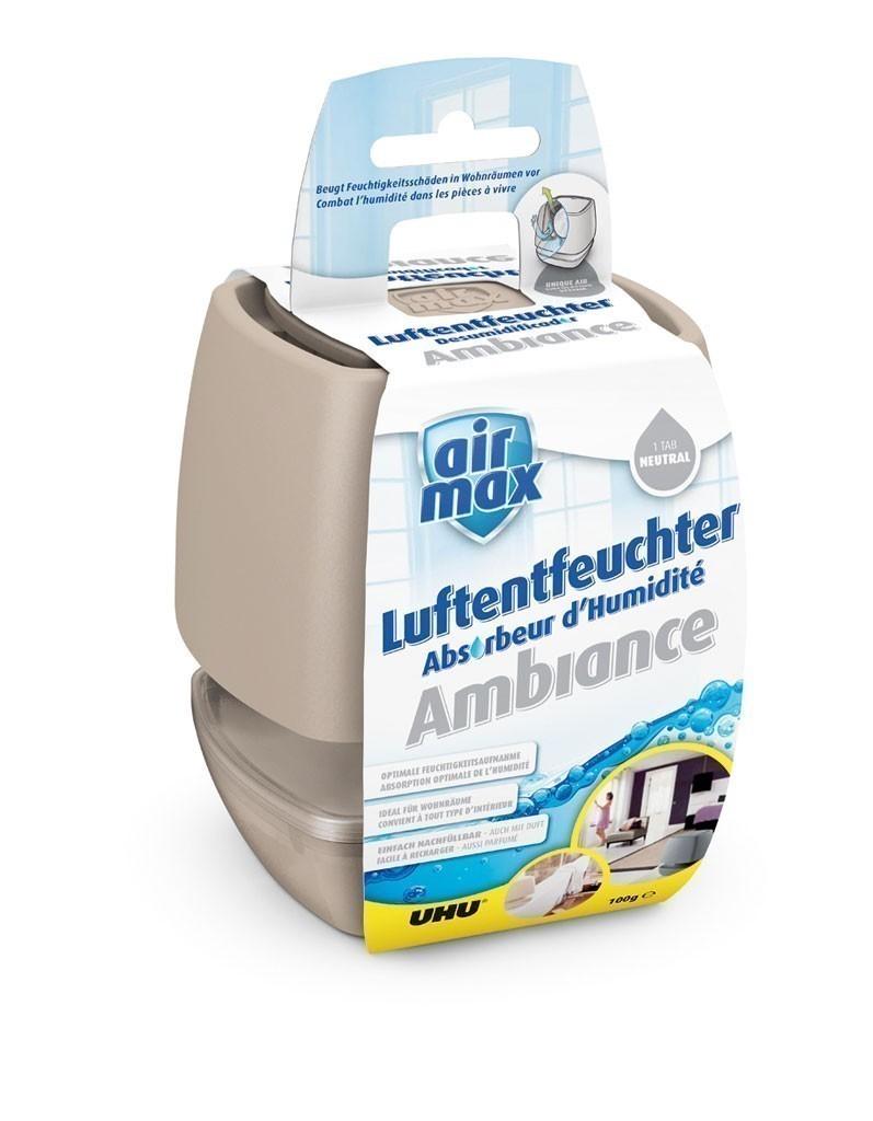 Luftentfeuchter Air Max Ambiance small UHU 100 g sand Bild 1