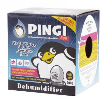 Luftentfeuchter / Pingi Ei Keramik / Egg 200g Bild 2