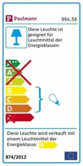 Paulmann Einbauleuchten-Set Premium Line Halogen 51 mm weiß 4x35W Bild 2
