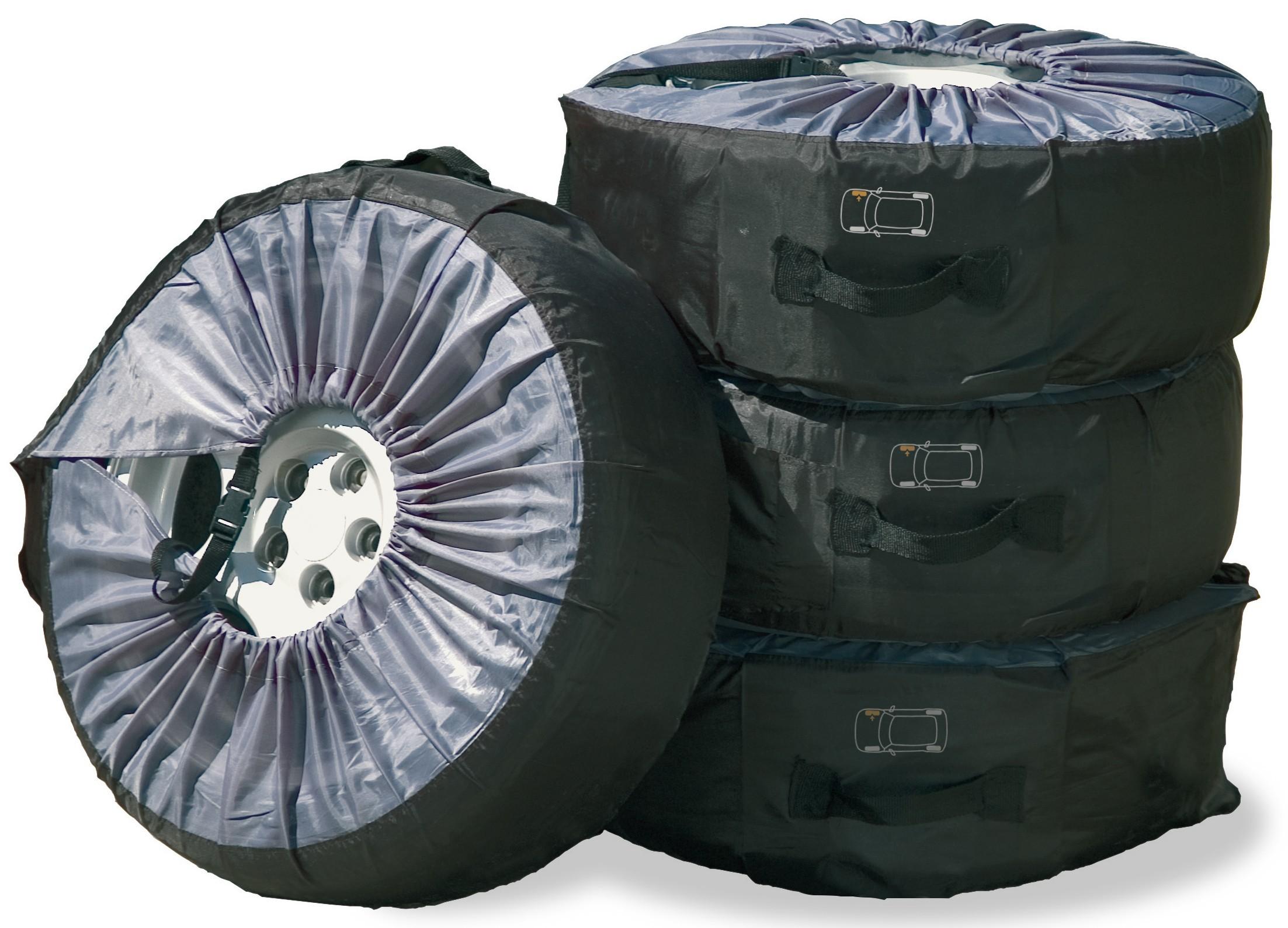 """Reifentasche Set für Reifen bis 17"""" (43,18cm) Bild 1"""