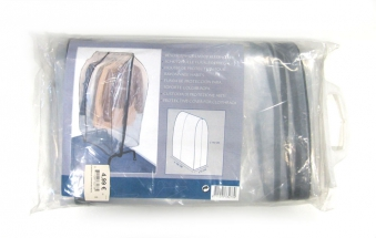 Schutzhülle für Garderobenregal transparent 108x52x142cm Bild 1