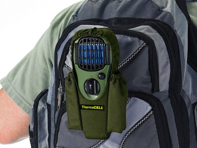 ThermaCell Insektenschutz Handgerät olivgrün mit Drehschalter Bild 3