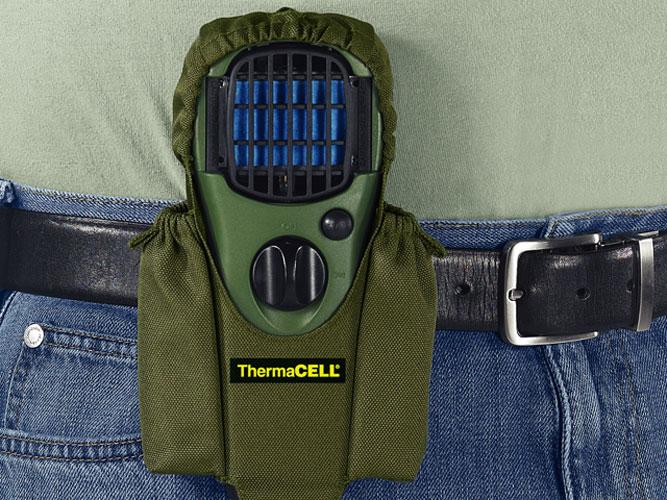 ThermaCell Insektenschutz Handgerät olivgrün mit Drehschalter Bild 4