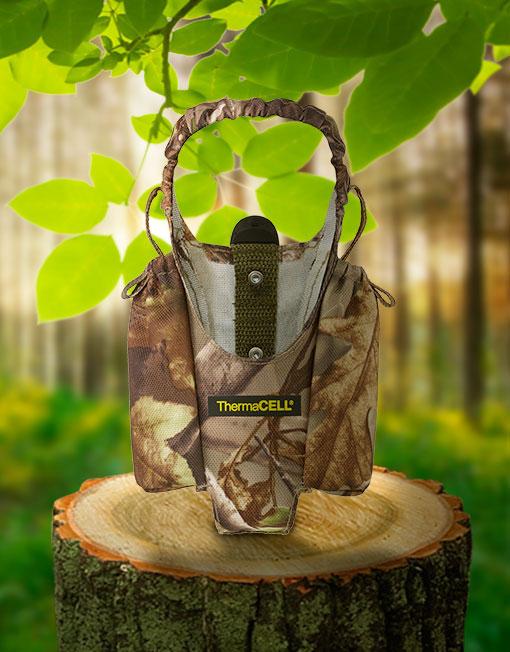 Tragetasche Real Tree Design für ThermaCell Insektenschutz Handgeräte Bild 1