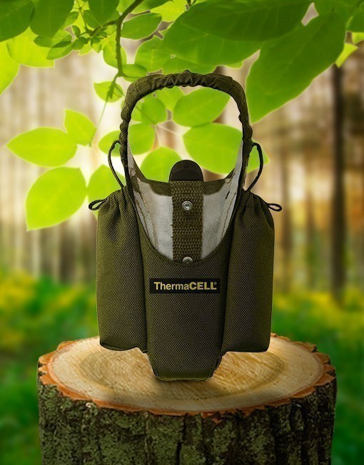 Tragetasche olivgrün für ThermaCell Insektenschutz Handgeräte Bild 1