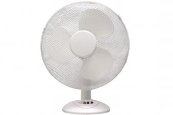 Ventilator / Tischventilator Ø 30 cm 3 Stufen 45 Watt weiß Bild 2
