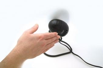 Ventilator / Tischventilator Vornado Zippi klappbar schwarz Ø 18,8cm Bild 2