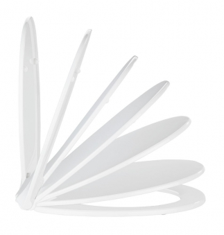 WC-Sitz Wenko Premium Kos Thermoplast mit Absenkautomatik Bild 4