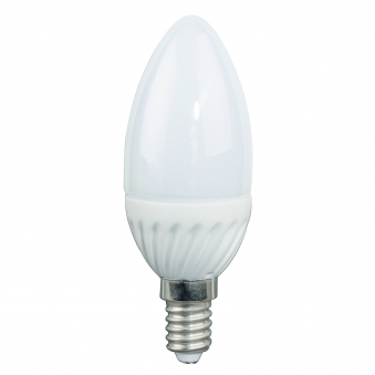LED-Lampe / LED Leuchtmittel E14/3W 245LM Kerzenlampe warmweiß