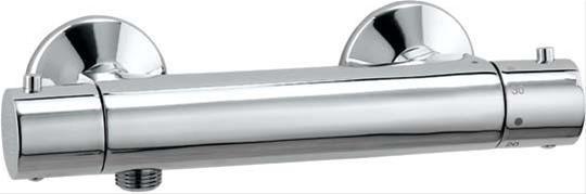 Barca Thermostat-Batteriefür Brause, chrom Bild 1