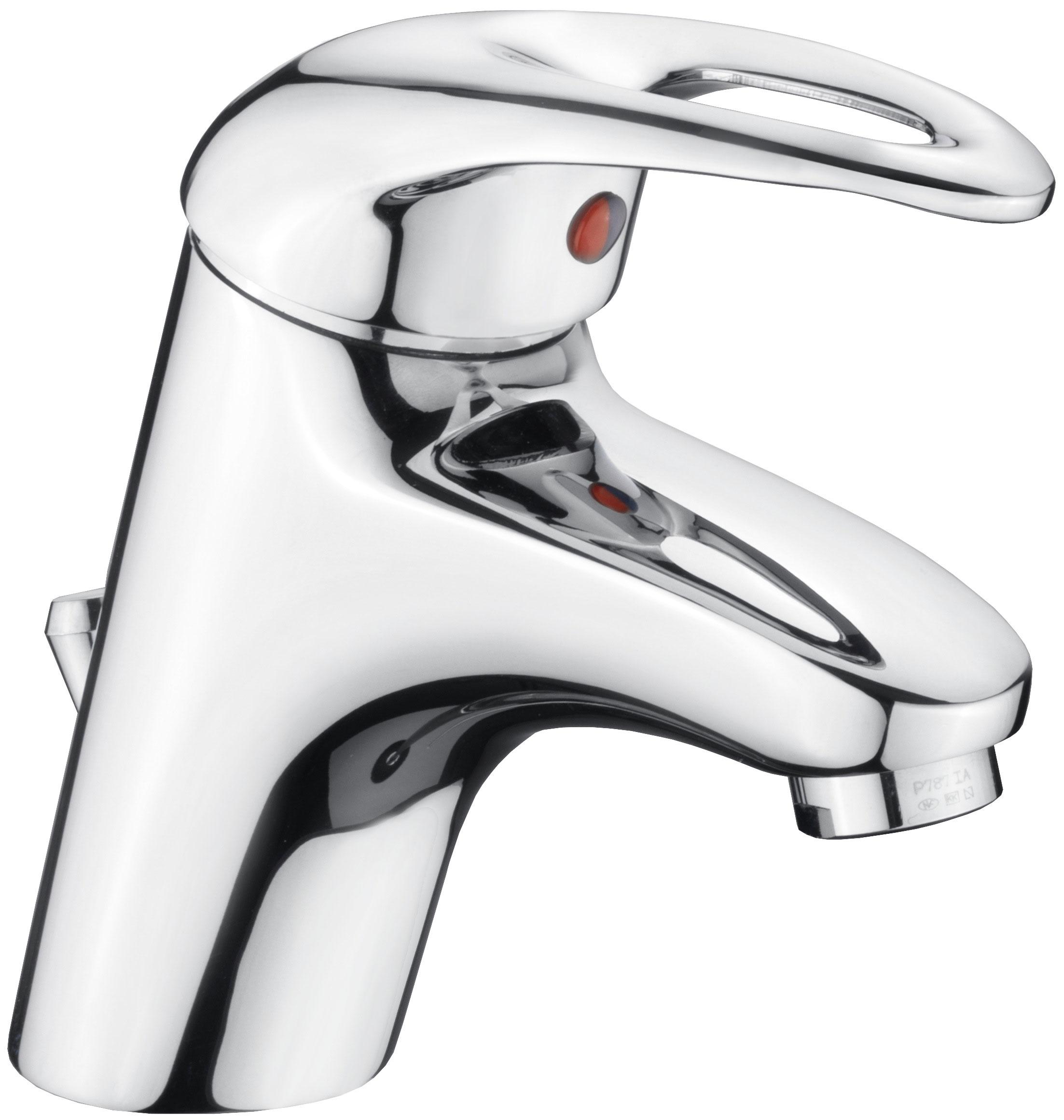 Cornat Einhebelmischer Waschtisch Bova / Bad-Armatur verchromt Bild 1
