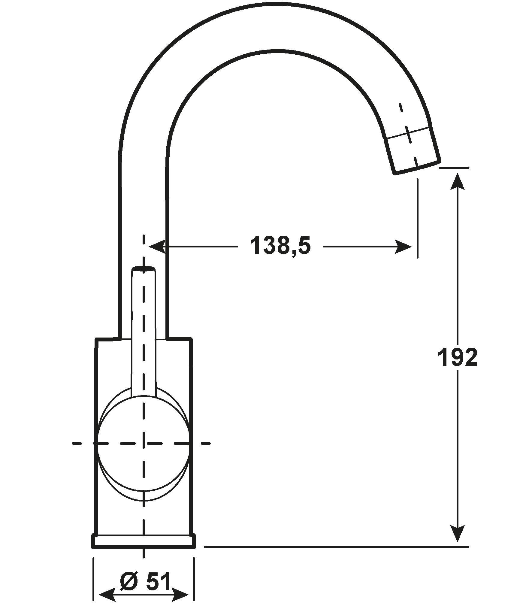 Cornat Einhebelmischer Waschtisch Fiora / Bad-Armatur verchromt Bild 2