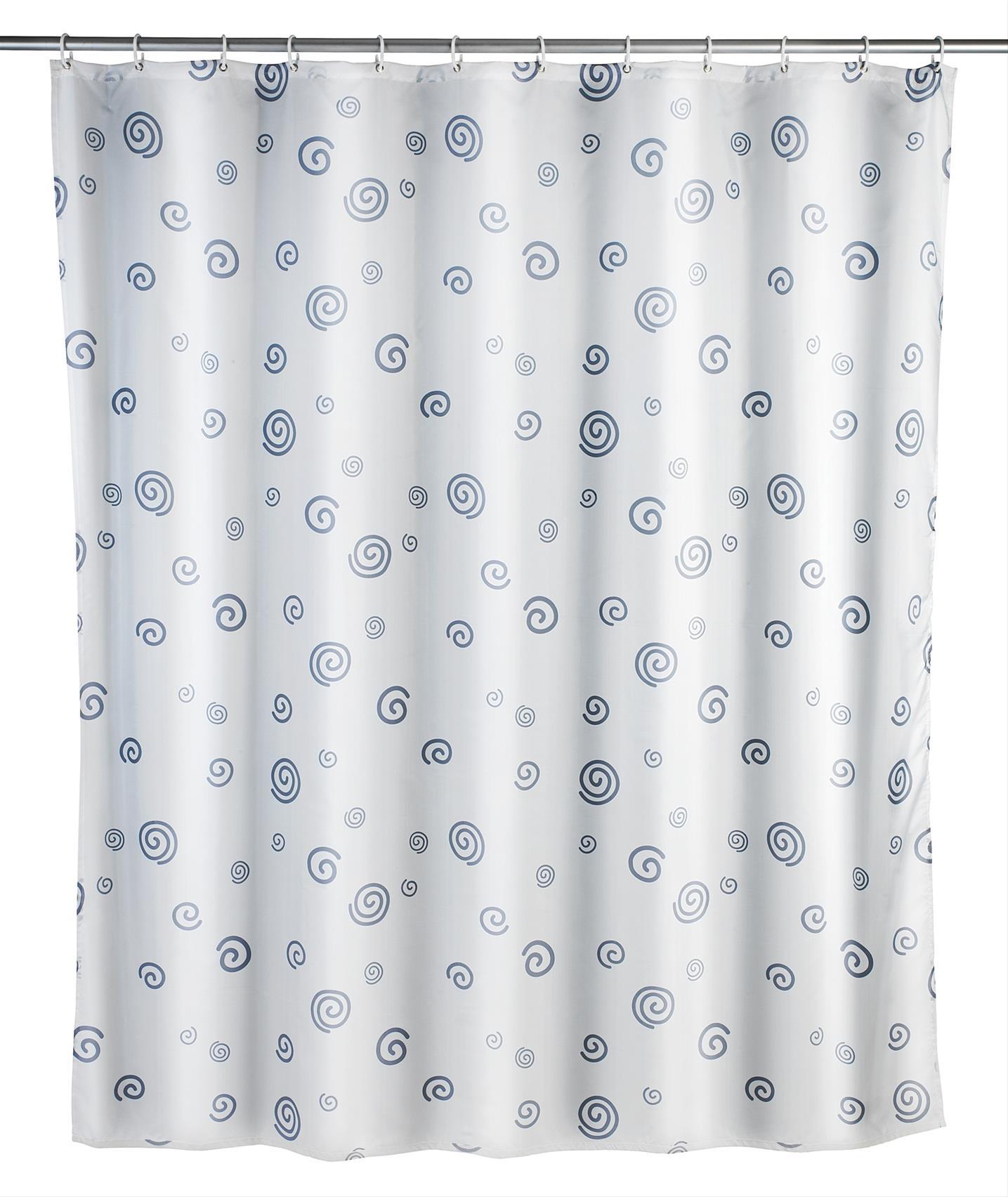 Duschvorhang 180x200 cm Schnecke, Polyes Bild 1