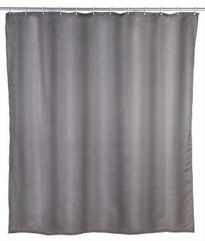Duschvorhang 180x200, grey antischimmel Bild 1