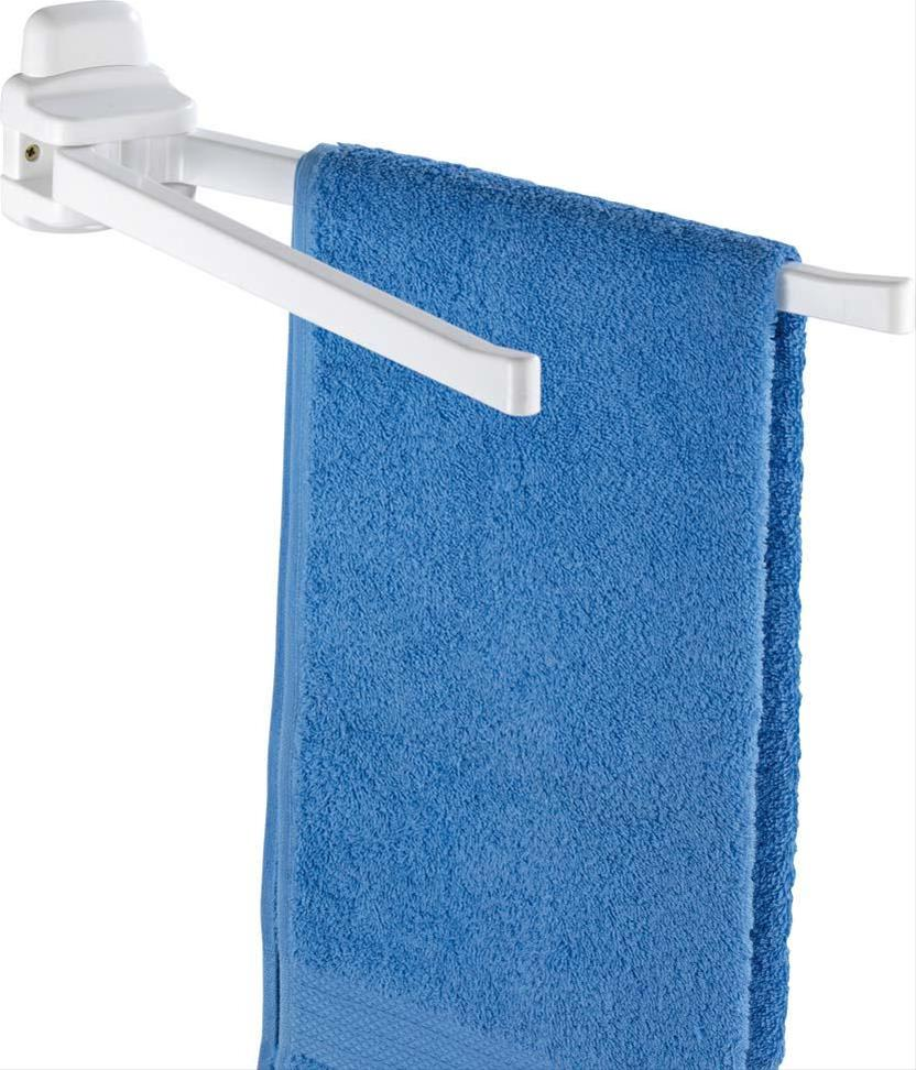 Handtuchhalter Pure 2-armig, weiß Bild 1